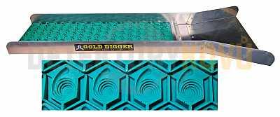 JL GoldDigger - splav na rýžování zlata - Zelená - Detektory kovů