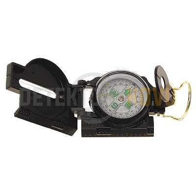 Kompas US kovový, zelený - Detektory kovů