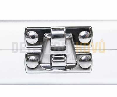 Luxusní hliníkový kufr na 24 mincí do 42 mm - Detektory kovů