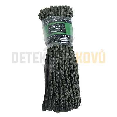 Lano Commando 15 m, 5 mm zelené - Detektory kovů