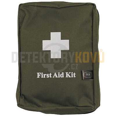 Lékárnička první pomoci 18 x 12 x 7 cm - zelená - Detektory kovů