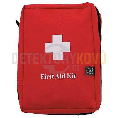 Lékárnička první pomoci 18 x 12 x 7 cm - červená - Detektory kovů