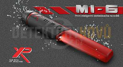 Dohledávačka XP MI-6 - Detektory kovů