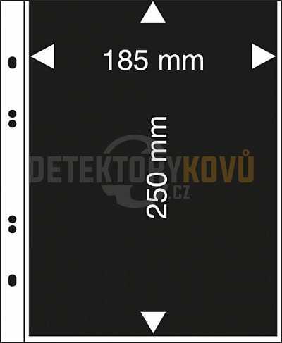 Albové listy na bankovky MU1405 - Detektory kovů