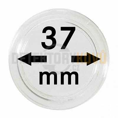 Kapsle na mince 37 mm - Detektory kovů