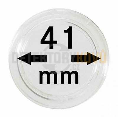 Kapsle na mince 41 mm - Detektory kovů