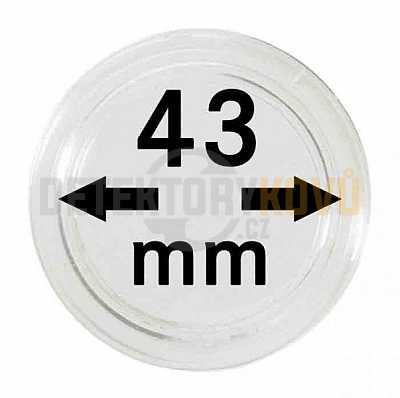Kapsle na mince 43 mm - Detektory kovů