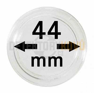 Kapsle na mince 44 mm - Detektory kovů