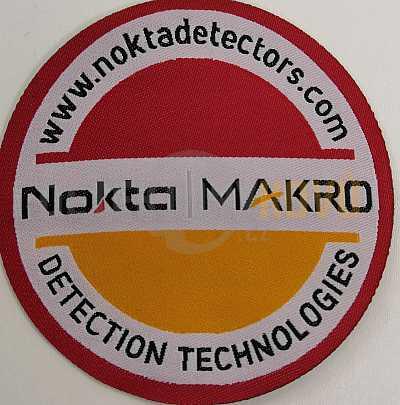 Nášivka pro hledače Nokta Makro 8 cm - Detektory kovů