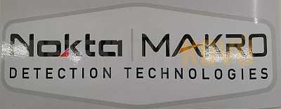 Samolepka Nokta Makro 20 x 7,5 cm - Detektory kovů