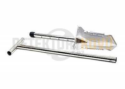 Nokta Makro Premium Shovel - nerezový skládací rýč - Detektory kovů