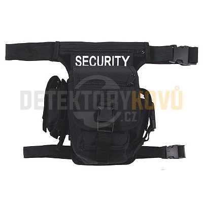 Opasková taška (Hip-Bag) černá, Security - Detektory kovů