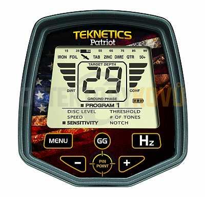 Teknetics Patriot - Detektory kovů