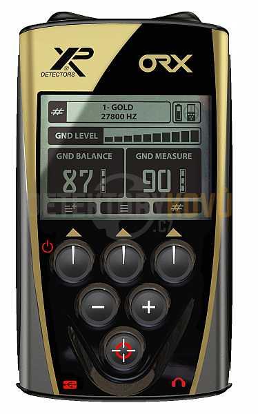 XP ORX X35 28 cm RC + bezdrátová sluchátka WSAUDIO - Detektory kovů