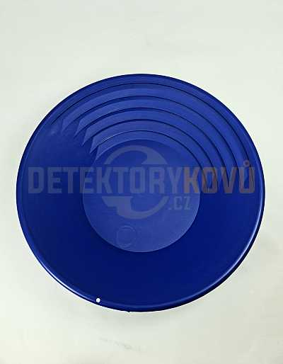 Rýžovací pánev na zlato Klondike 37 cm - modrá - Detektory kovů