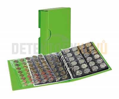 Album na mince s pouzdrem Publica M COLOR - Spring (zelená) - Detektory kovů