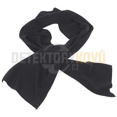 Šála fleecová černá - Detektory kovů