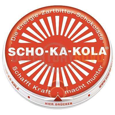 Energetická čokoláda Scho-Ka-Kola, hořká - Detektory kovů