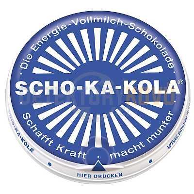 Energetická čokoláda Scho-Ka-Kola, mléčná - Detektory kovů