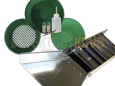 Rýžovací SET DW PRO - Detektory kovů