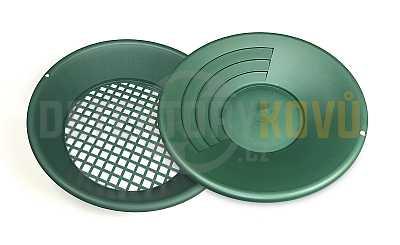 Rýžovací pánev a síto na zlato SET - Detektory kovů