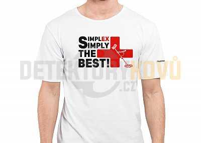 Triko Simplex bílé - Detektory kovů