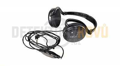 XP FX-03 sluchátka s regulací hlasitosti - Detektory kovů
