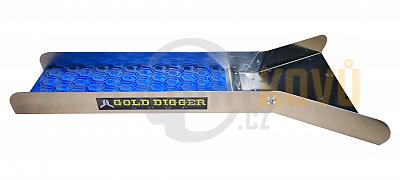JL GoldDigger - splav na rýžování zlata - Modrá - Detektory kovů