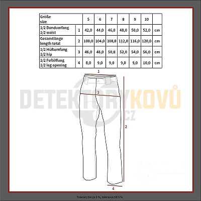 Spodky BW komfort olivové - Detektory kovů