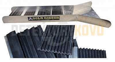 Gold Owl - splav na rýžování zlata - Detektory kovů