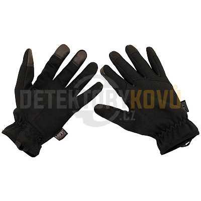 Taktické rukavice černé - Detektory kovů