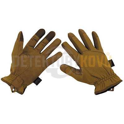 Taktické rukavice coyote - Detektory kovů