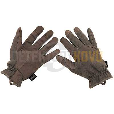 Taktické rukavice šedé - Detektory kovů