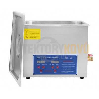 Ultrazvuková čistička ELASON 10L - digitální - Detektory kovů