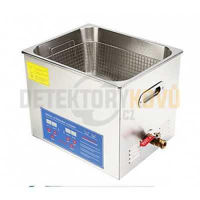 Ultrazvuková čistička ELASON 15L - digitální - Detektory kovů