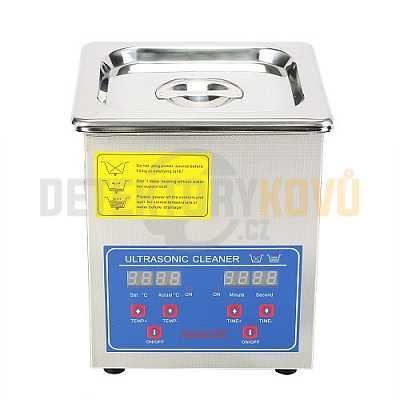 Ultrazvuková čistička ELASON 2L - digitální - Detektory kovů