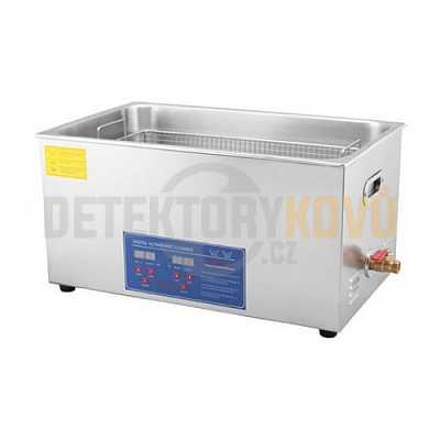 Ultrazvuková čistička ELASON 30L - digitální - Detektory kovů