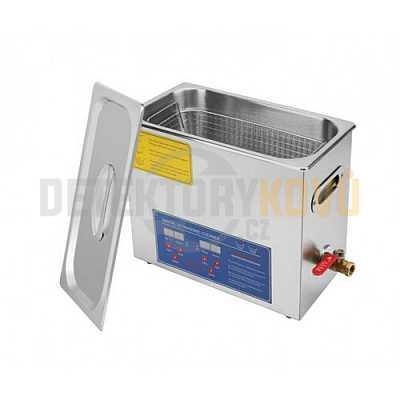 Ultrazvuková čistička ELASON 6L - digitální - Detektory kovů
