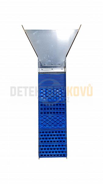 Poseidon - splav na rýžování zlata - Modrá - Detektory kovů