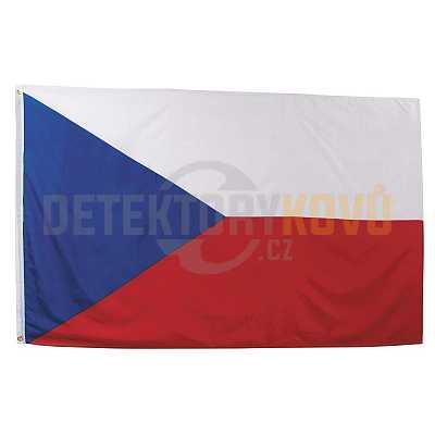 Vlajka ČR, 150 x 90 cm - Detektory kovů