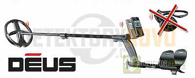 XP Deus 22 RC CZ - Detektory kovů