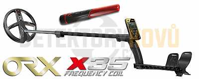 XP ORX X35 22 cm RC + dohledávačka XP MI-6 - Detektory kovů