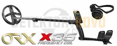 XP ORX X35 22 cm RC + bezdrátová sluchátka WSAUDIO + dohledávačka XP MI-6 - Detektory kovů
