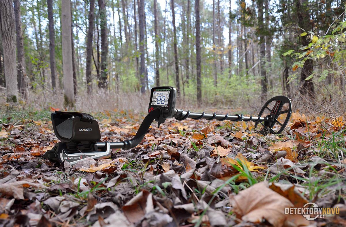 makro RACER 2 detektor kovů