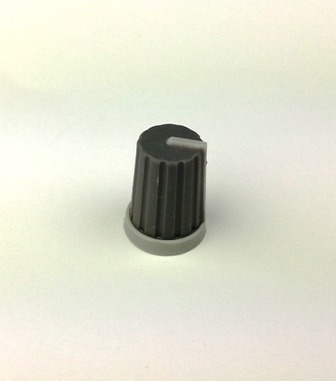 XP054 Grey Bouton for potentiometer