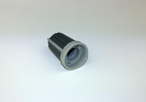 XP054 Grey Bouton for potentiometer 2